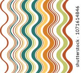 wave abstract pattern background | Shutterstock .eps vector #1071614846
