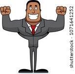 a cartoon businessperson... | Shutterstock .eps vector #1071641252