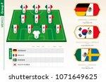 mexico football team...   Shutterstock .eps vector #1071649625