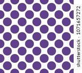 seamless pattern in polka dot... | Shutterstock .eps vector #1071657272