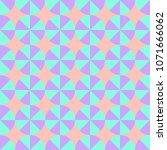seamless geometric pattern of... | Shutterstock .eps vector #1071666062