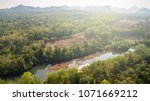 top view  asian tropical forest ... | Shutterstock . vector #1071669212