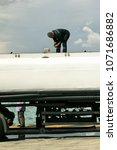 Small photo of Fuel tank truck at the port of Piraeus, Greece, September 23 2015.