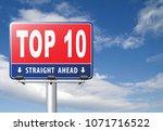 top 10 charts list pop poll...   Shutterstock . vector #1071716522