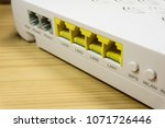 router port lan | Shutterstock . vector #1071726446