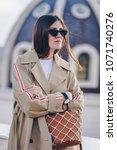 fashion details. fashion... | Shutterstock . vector #1071740276