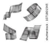 vector realistic set of film...   Shutterstock .eps vector #1071801545