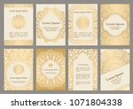 background templates with... | Shutterstock .eps vector #1071804338