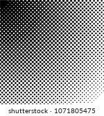 halftone design elements.... | Shutterstock .eps vector #1071805475
