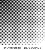 halftone design elements.... | Shutterstock .eps vector #1071805478