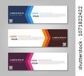 vector abstract design web... | Shutterstock .eps vector #1071822422