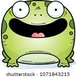 a cartoon illustration of a...   Shutterstock .eps vector #1071843215