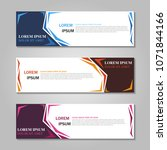 vector abstract design web... | Shutterstock .eps vector #1071844166