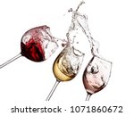 Red  White And Rose Wine...