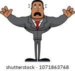 a cartoon businessperson... | Shutterstock .eps vector #1071863768