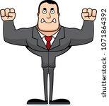 a cartoon businessperson... | Shutterstock .eps vector #1071864392