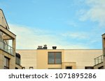 modern and new apartment... | Shutterstock . vector #1071895286