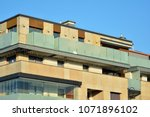 modern and new apartment... | Shutterstock . vector #1071896102