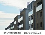 modern and new apartment... | Shutterstock . vector #1071896126