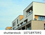 modern and new apartment... | Shutterstock . vector #1071897092