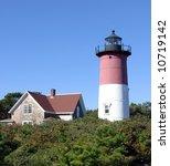Nauset Lighthouse On Cape Cod...