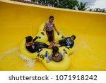 malacca  malaysia   18 april... | Shutterstock . vector #1071918242