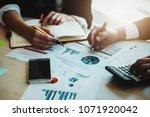 financial advisor  accounting... | Shutterstock . vector #1071920042