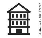 home vector icon  building... | Shutterstock .eps vector #1071924242
