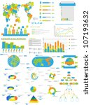 infographic web collection...   Shutterstock . vector #107193632