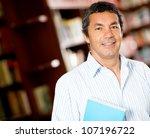 old male university student... | Shutterstock . vector #107196722