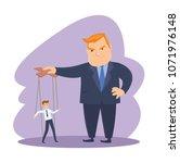 funny fat men capitalists in...   Shutterstock .eps vector #1071976148