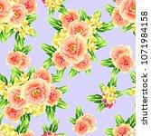 abstract elegance seamless... | Shutterstock . vector #1071984158