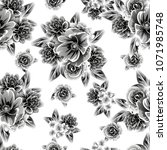 abstract elegance seamless... | Shutterstock .eps vector #1071985748