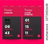 time app ux ui design for smart ...
