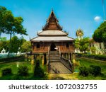 The Wooden Stupa Is Located In...