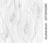 wood texture sketch. grain... | Shutterstock .eps vector #1072042085