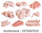 Fresh Raw Chicken Chicken Parts - Fine Art prints