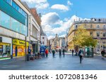 leicester  united kingdom ... | Shutterstock . vector #1072081346