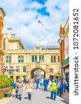lincoln  united kingdom  april... | Shutterstock . vector #1072081652