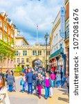 lincoln  united kingdom  april... | Shutterstock . vector #1072081676