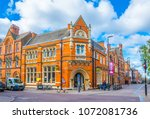 leicester  united kingdom ... | Shutterstock . vector #1072081736