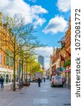 leicester  united kingdom ... | Shutterstock . vector #1072081772