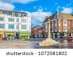 leicester  united kingdom ... | Shutterstock . vector #1072081802