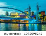 view of the lowry theater in... | Shutterstock . vector #1072095242