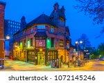 nottingham  united kingdom ... | Shutterstock . vector #1072145246
