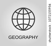 geography icon. geography... | Shutterstock .eps vector #1072155956