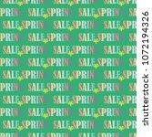 spring sale.vector illustration. | Shutterstock .eps vector #1072194326