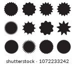 set of starburst  sunburst... | Shutterstock .eps vector #1072233242