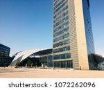 bologna  italy   circa april ... | Shutterstock . vector #1072262096
