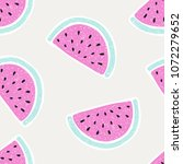 seamless pattern with... | Shutterstock .eps vector #1072279652